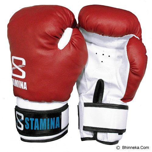 STAMINA Boxing Gloves 14 oz [ST-303-14R] - Red - Other Exercise